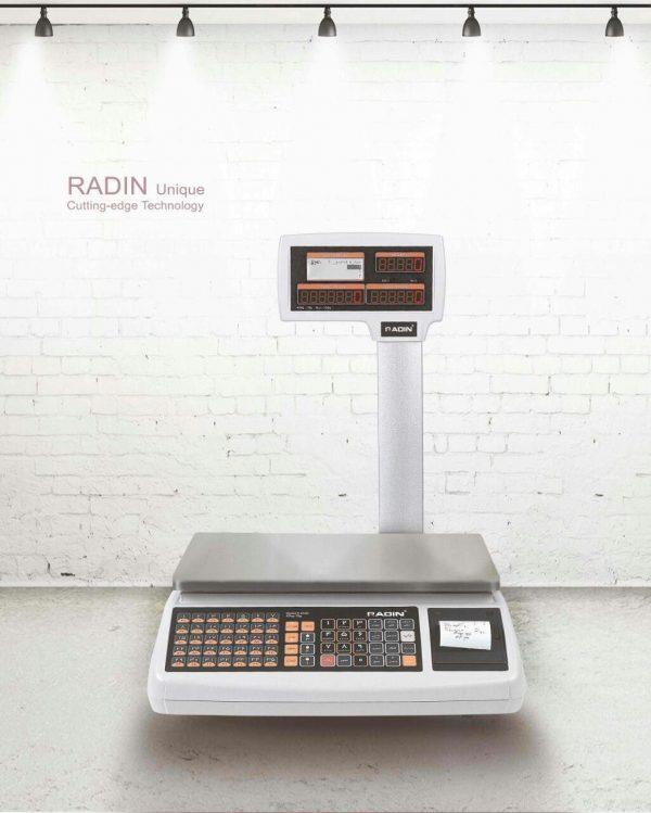 ترازوی رادین 40 کیلویی مدل 6700 پلاس